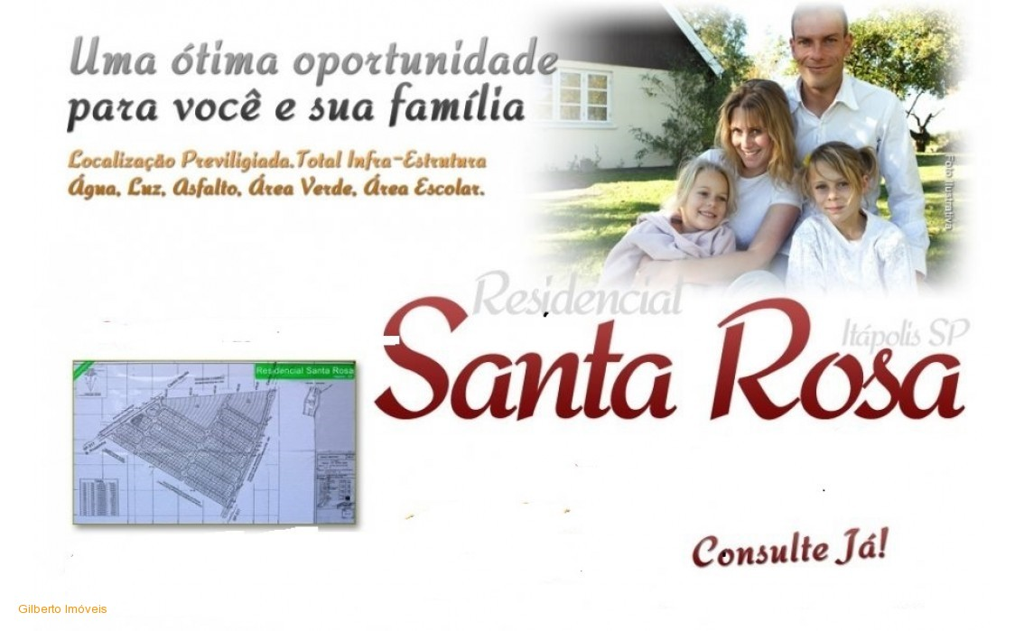 RESIDENCIAL  SANTA ROSA 01 TERRENO